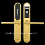 Goodum Type européen de serrure de porte d'empreintes digitales de porte en aluminium