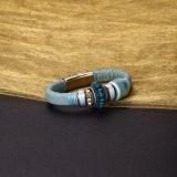 Form-Entwurfs-Leder-Armband für junge Mädchen-populäre Frauen-Schmucksachen