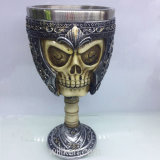2018 новая чашка декора ужаса Tankard черепа смолаы 3D для партии штанги Halloween