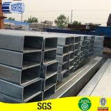 Tratamiento de galvanizado en frío llamado tubo de acero de forma de selección rectangular
