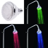 Testa di acquazzone variopinta di controllo di temperatura dell'acquazzone del rubinetto LED dell'acquazzone del LED