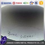 Precio inoxidable del tubo de Inox del tubo de acero de la superficie 304 blancos de la alta calidad por el PCS