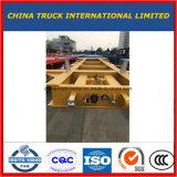 20pieds 3 cadre d'essieu semi remorque de camion de conteneurs de squelette