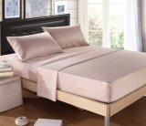 高品質の100%年のCharmeuseの絹の皮の柔らかい寝具セット