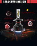 차 헤드라이트 변환 장비 T8 H4 72W LED 차 헤드라이트 9003