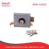 Cerradura de cilindro de sobreponer con barra de control