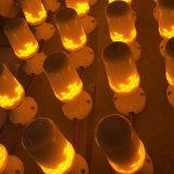 Bulbos simulados luz E26 E27 do milho do incêndio da natureza do efeito da flama do diodo emissor de luz