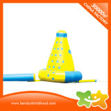Castillo inflable portable de la diapositiva de agua de la piscina para el patio trasero