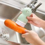 La cucina frega il lavaggio del piatto del dispersore della spazzola & l'impianto di lavaggio della verdura con la tazza Esg10417 di aspirazione