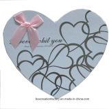 Rectángulos del chocolate del caramelo de la dimensión de una variable del corazón para el regalo del día de tarjeta del día de San Valentín/el conjunto del regalo de día de fiesta