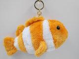 Manta de felpa de alta calidad de peces de juguete de peluche personalizados Llavero de pescado