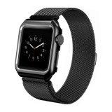 Appleの腕時計のフレームが付いているミラノのループ金属ストラップのステンレス鋼の時計バンドのため