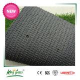 Mirada natural la alfombra de césped sintético de color verde con bajo precio