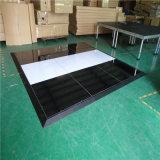 Rk los 4FT populares los x 4FT Dance Floor de madera Polished blanco para la venta