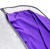 Складной пластичный мешок одежды для хранения или перемещения