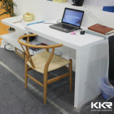 Искусственним изогнутый камнем твердый поверхностный стол приема
