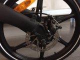 """セリウム20の""""隠されたリチウム電池が付いている折る電気自転車"""
