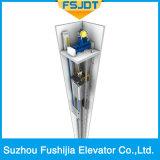 Ascenseur à faible bruit de passager avec la petite pièce de machine