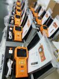 Medidor de gás Handheld do ozônio com o sensor eletroquímico do gás (O3) 0-100ppm