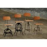 Metal industrial de Toledo que janta tamboretes de barra das cadeiras de jardim do restaurante