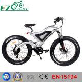 Bicicletta elettrica della montagna della gomma grassa di alluminio con Ce En15194
