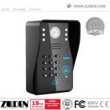 RFIDコードキーパッドのWiFiの7inchタッチ画面が付いている無線720pビデオドアの電話