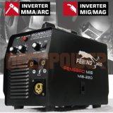 3No1 Mult processar 140A/160A/180A/200A MIG soldador MMA com marcação CE