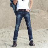 Neue Form gebrochene waschende Jeans mit speziellem Entwurf für Mann (HDMJ0008-17)