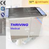 Type de chauffage électrique en acier inoxydable avec isolation panier alimentaire