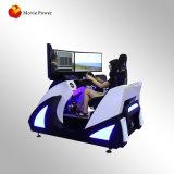 De DrijfSimulator van Vr met de Raceauto van Motional 9d Vr van het Platform van de 3 Schermen