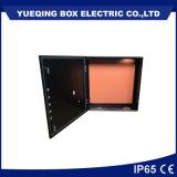 Yqbox는 까만 색깔 금속 울안을 주문을 받아서 만들었다