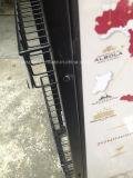 Qualität eingebrannter Einzelhandelsgeschäft-Draht-Wein-Metallausstellungsstand