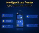 ロックし、リアルタイムの追跡する容器のドアのための容器の密閉GPS
