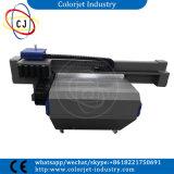 LED-heller kleiner Flachbettuvdrucker mit Köpfen Dx5 für Keramikziegel, Metall, Acryl, Holz, Glas, Visitenkarte,