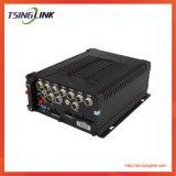 Canal 8 H. 264 4G segurança CCTV DVR da câmera de rede do Barramento CAN