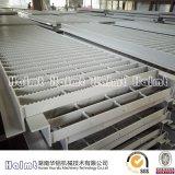 الصين صاحب مصنع صناعيّ ألومنيوم أرضية قضيب حاجز مشبّك