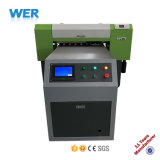 Stampante a base piatta UV più poco costosa A1 per stampa di vetro (Wer-Ep6090UV)