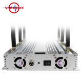 6 antenne 2g/3G Cellphone, 433, 315 Lojack Draagbaar Stationair Regelbaar cellphone/Wi-FI /Bluetooth van de Stoorzender CDMA/GSM/3G/4glte