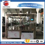 Frasco de vidro automática máquina de engarrafamento de vinhos gasosos