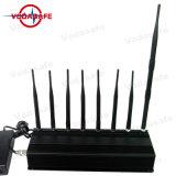 Восемь антенны сигнал блокировки всплывающих окон для 2g+3G+4G+2.4G+CDMA450 + Пульт дистанционного управления, высокая мощность портативный 3G/ 315/ 433/ кражи Lojack Jammer valve/блокировки всплывающих окон