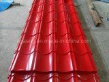 Wellenförmiges PPGI Stahldach-Blatt glasig-glänzende Farben-Stahldach-Fliese