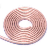 Vermelho de alta qualidade e o cabo do alto-falante em PVC preto