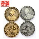 cadeau de promotion honneur commémoratif personnalisé Coin coin de souvenirs de métal