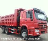 보장 2 년을%s 가진 최신 판매 트럭 HOWO 대형 트럭 덤프 트럭 30t 팁 주는 사람 트럭 6*4 쓰레기꾼 트럭