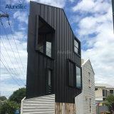 Agente mundial Perfil de muro cortina de aluminio para la decoración