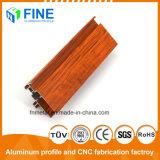 Хорошее качество алюминиевых профилей канала передачи данных из дерева в Китае