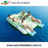 Jeu de l'eau gonflable Île flottante pour l'eau Park Sports