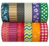 Cinta de enmascarar Washi decorativos de colección de cintas de enmascarar decorar para bricolaje manualidades, el Festival de envoltura de regalos, parte de la oficina