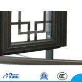 Finestra di alluminio con vetro insonorizzato e d'isolamento