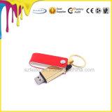 고품질 가죽 작풍 USB 섬광 드라이브 4GB 8GB 16GB 32GB